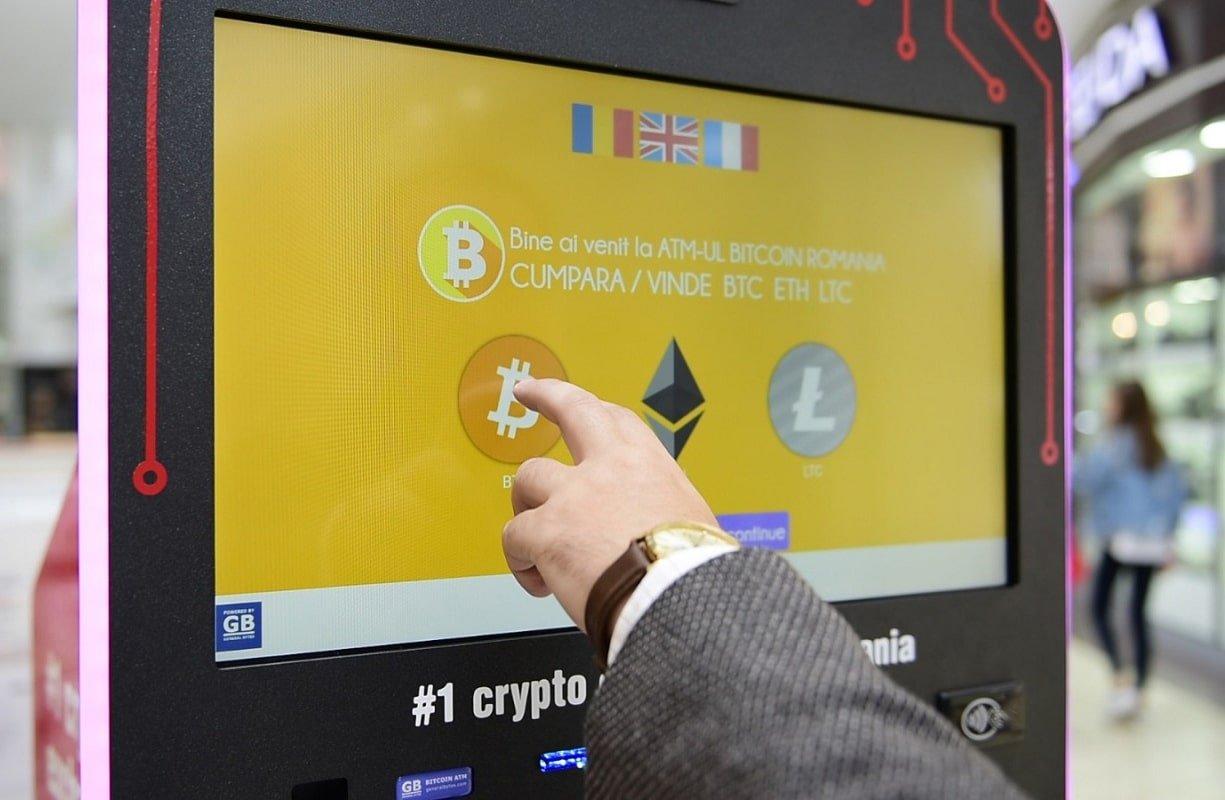 Ecran Bitcoin ATM
