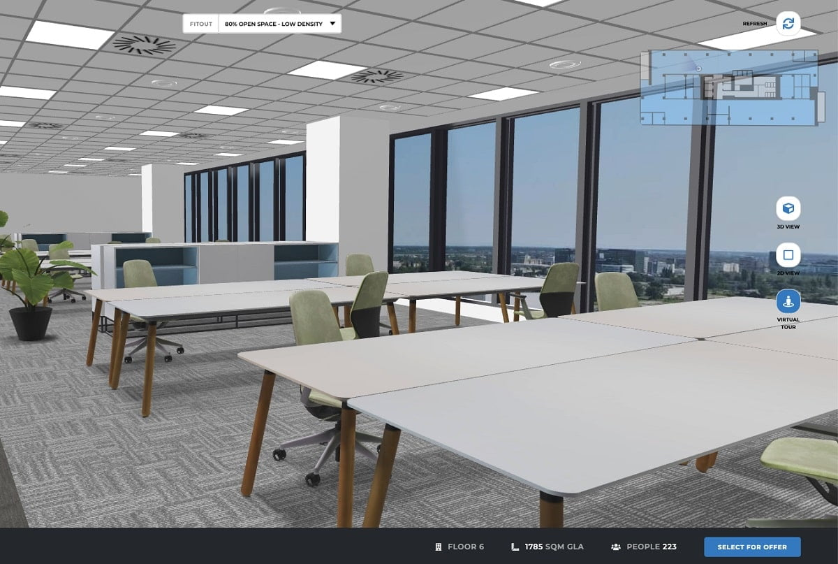 Skanska Equilibrium By Bright Spaces - demo image virtual tour