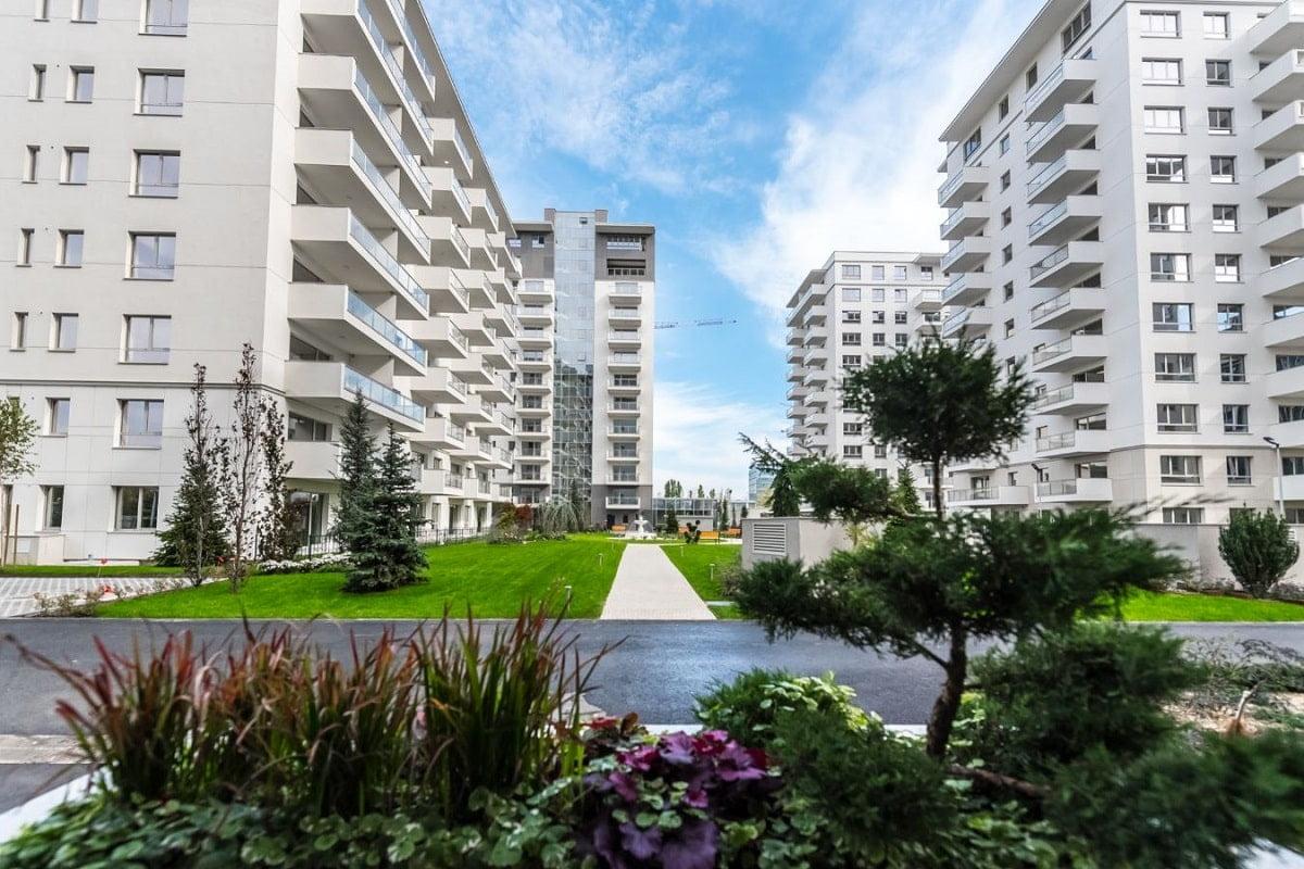 Luxuria Residence - spații verzi