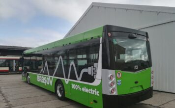 Autobuz electric SOR NS12