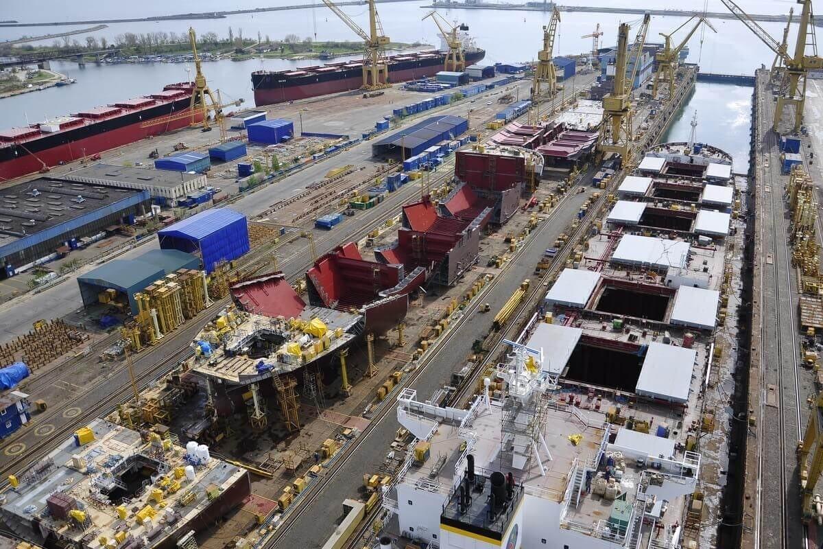 Damen Shipyards Mangalia