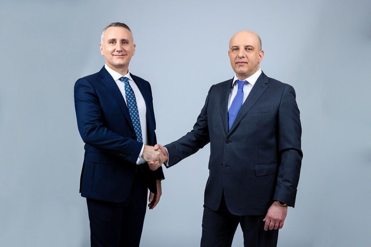 Claudiu Doroș CEO si Cătălin Iancu Deputy CEO Evergent Investments