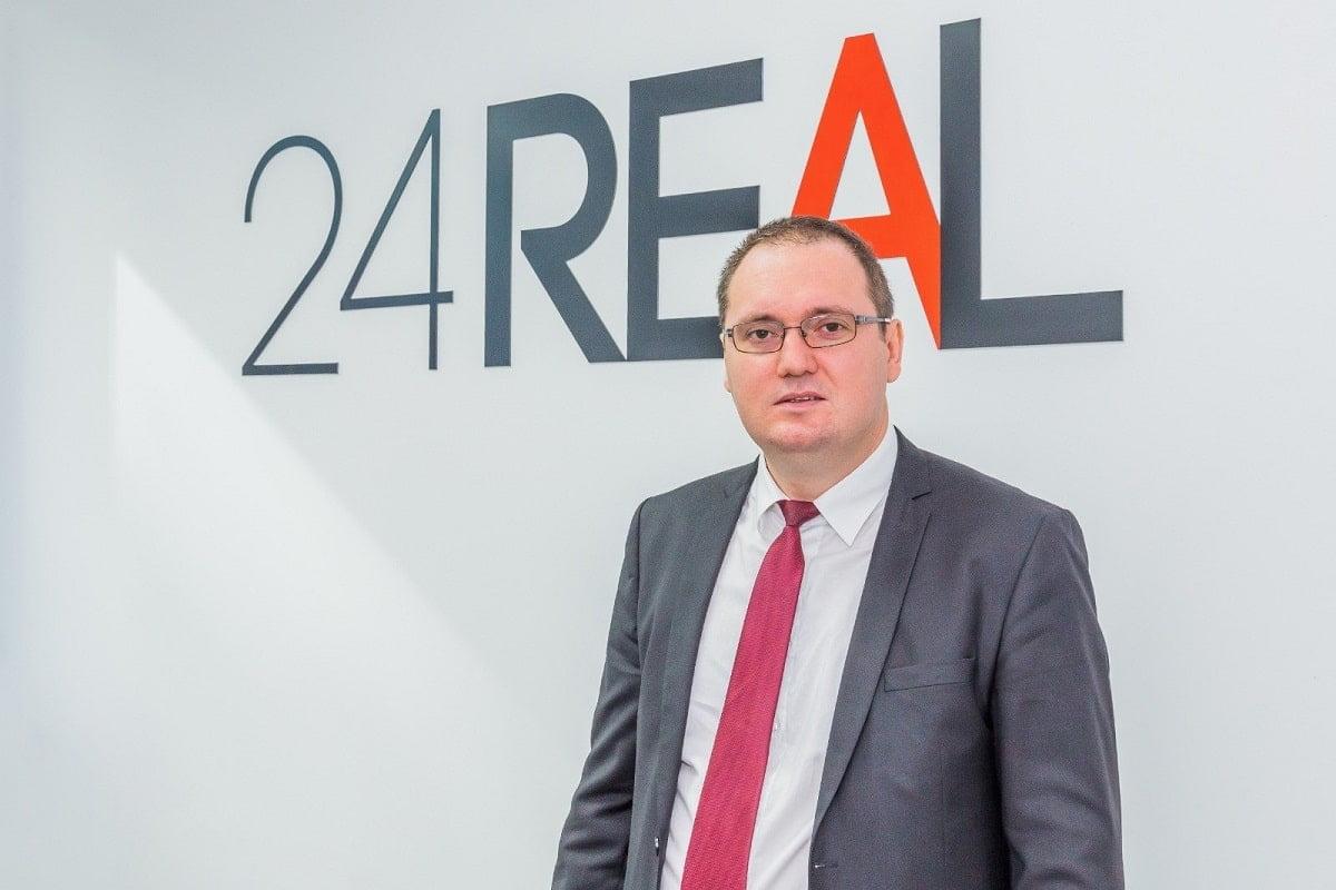 Constantin Capraru managing partner 24REAL