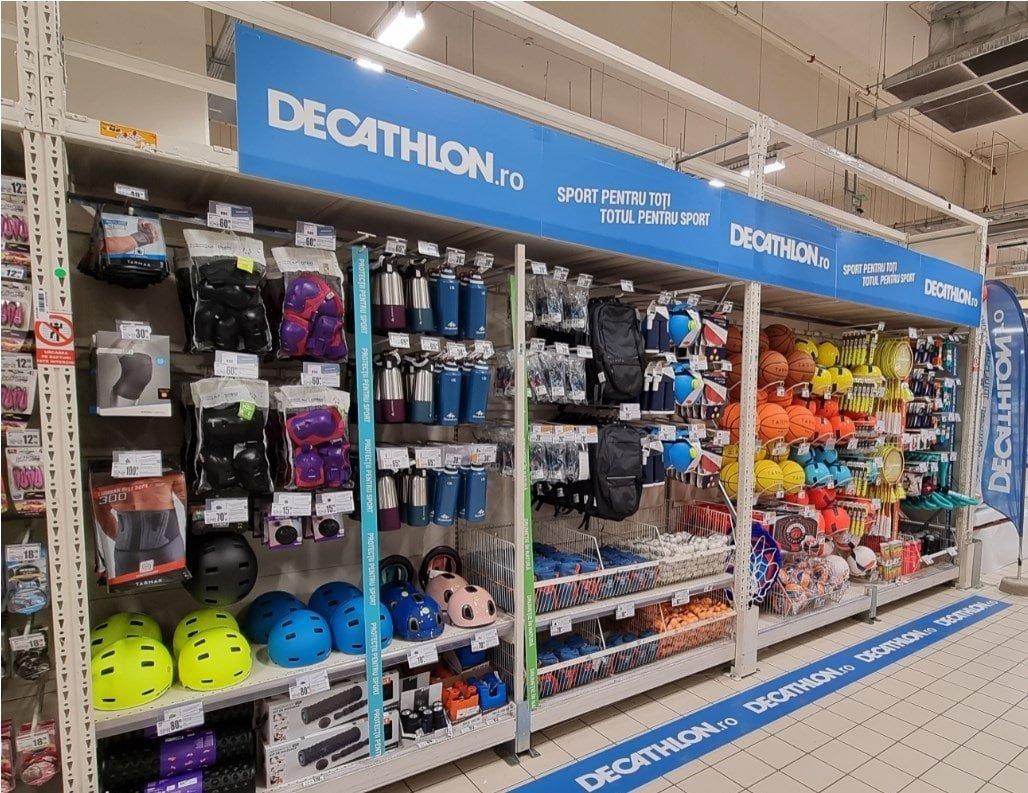Corner Decathlon in Auchan Drumul Taberei