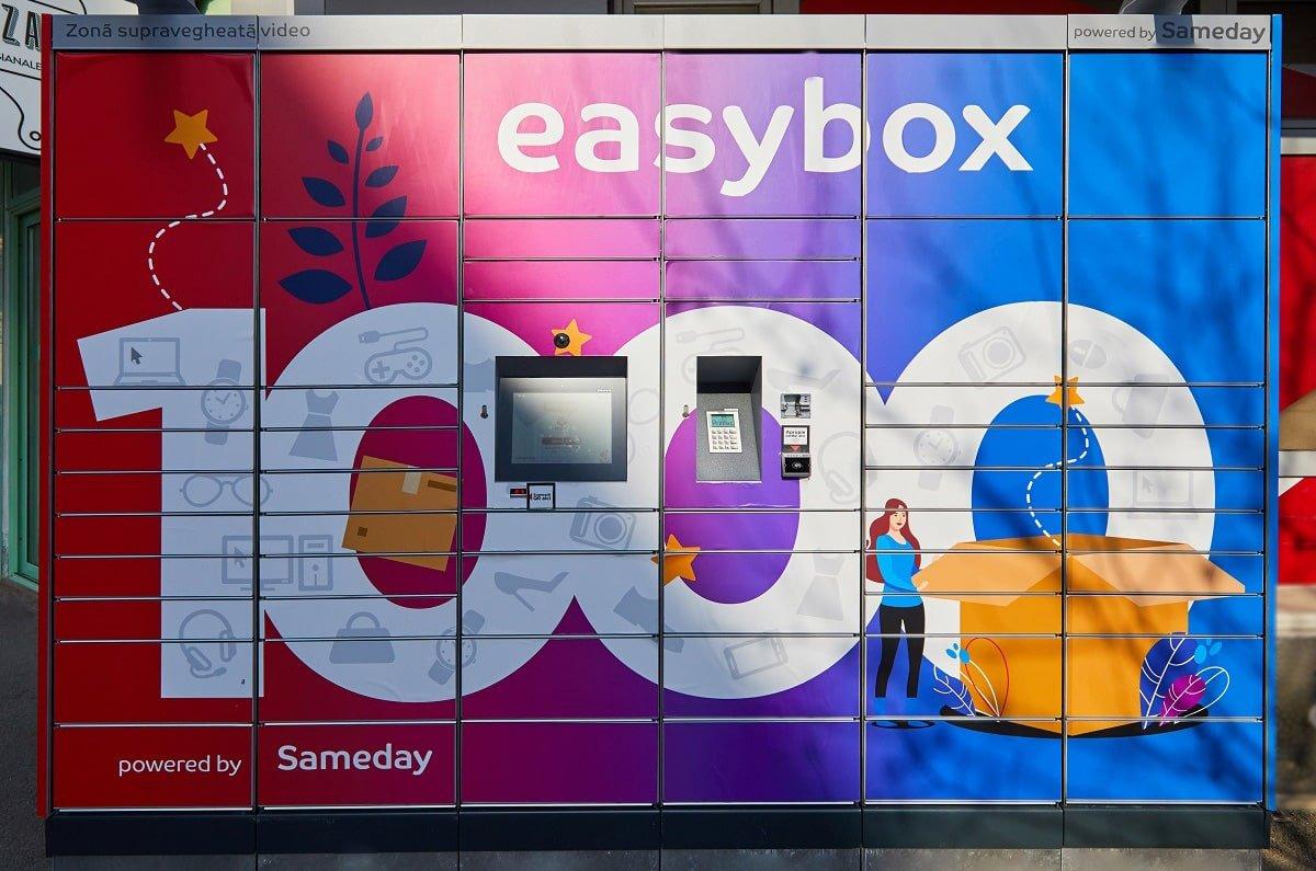 Lockerul easybox 1000