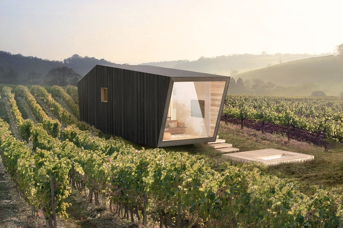 Tiny home Gramma wines
