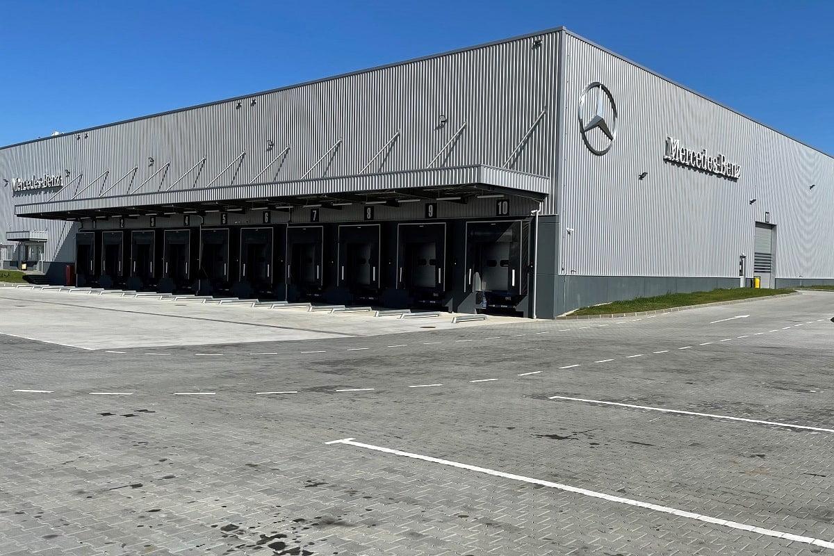 Centrul Logistic Mercedes-Benz Romania