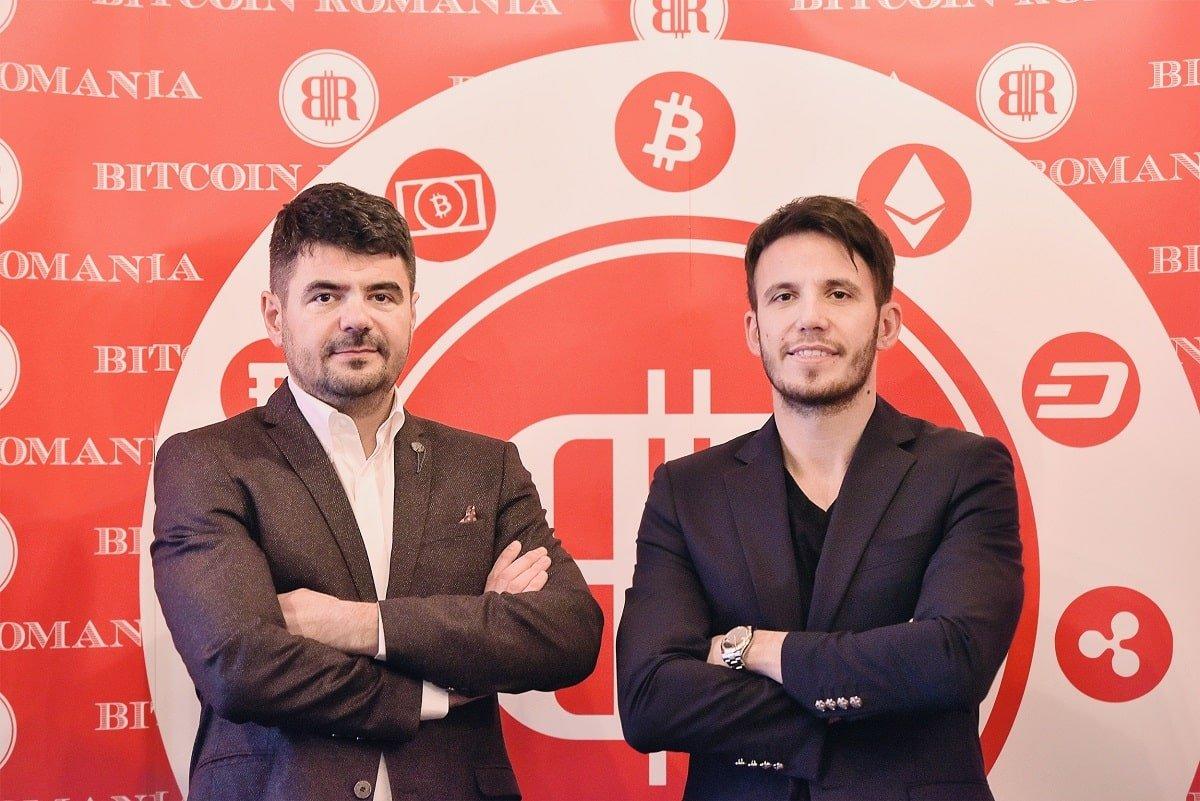 Constantin Rotariu si George Rotariu Bitcoin Romania