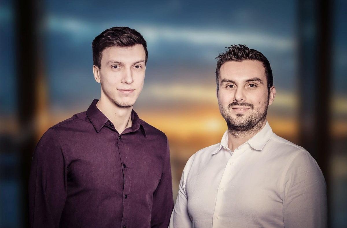 Fondatorii easySales, Ciprian si iulian Cazacu