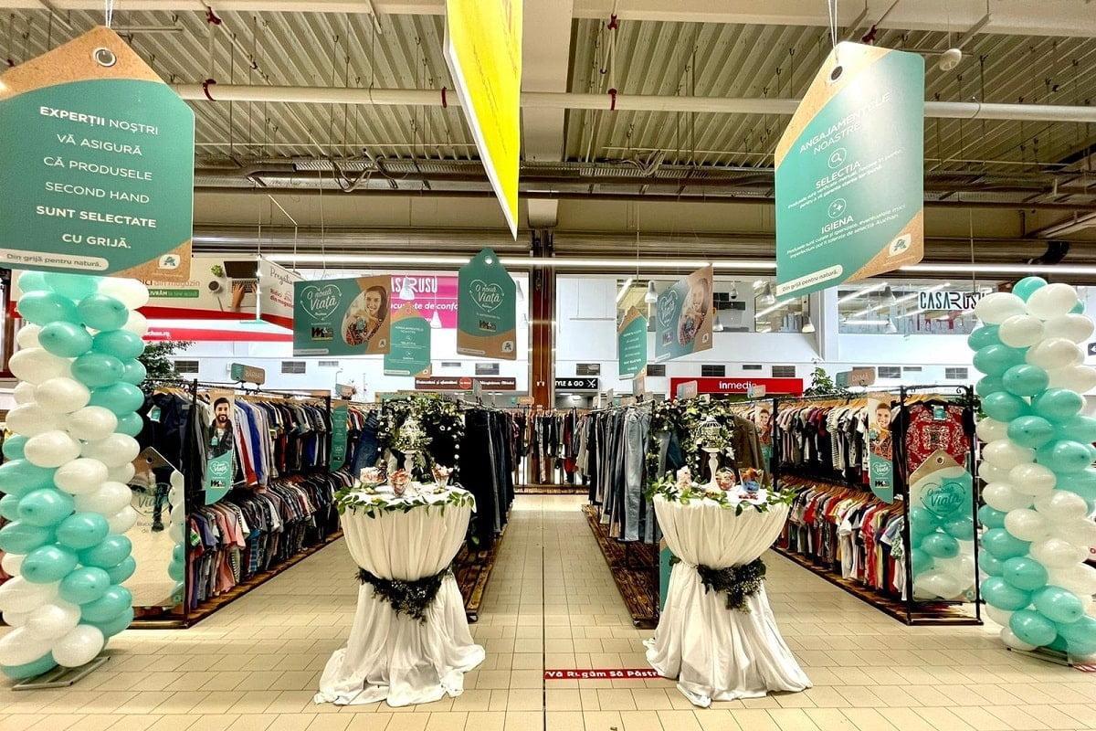 Haine second hand Auchan Timisoara Nord