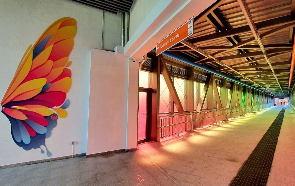 Pasarela metrou Berceni