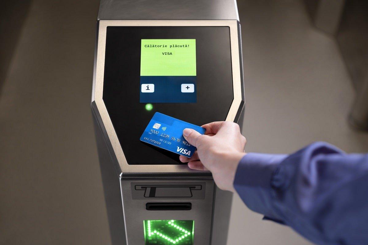 Plata card Metrorex