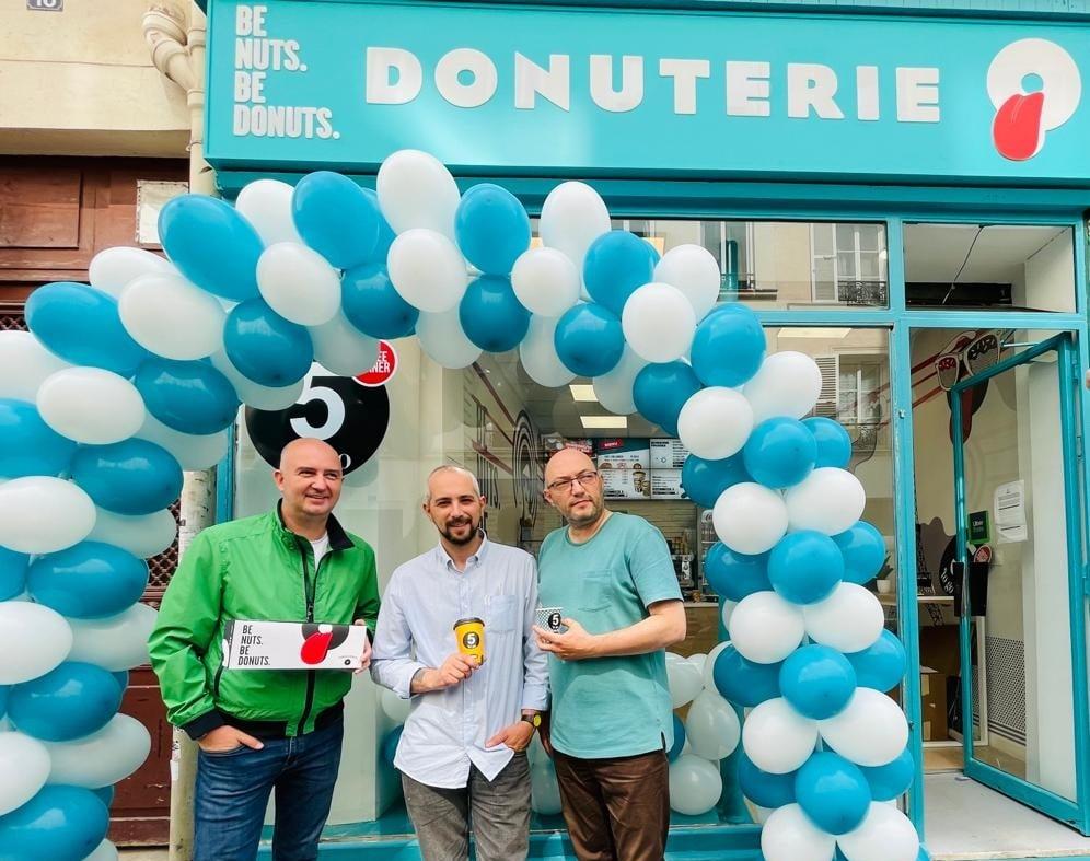Radu Savopol și Dan Olteanu, deschidere Paris
