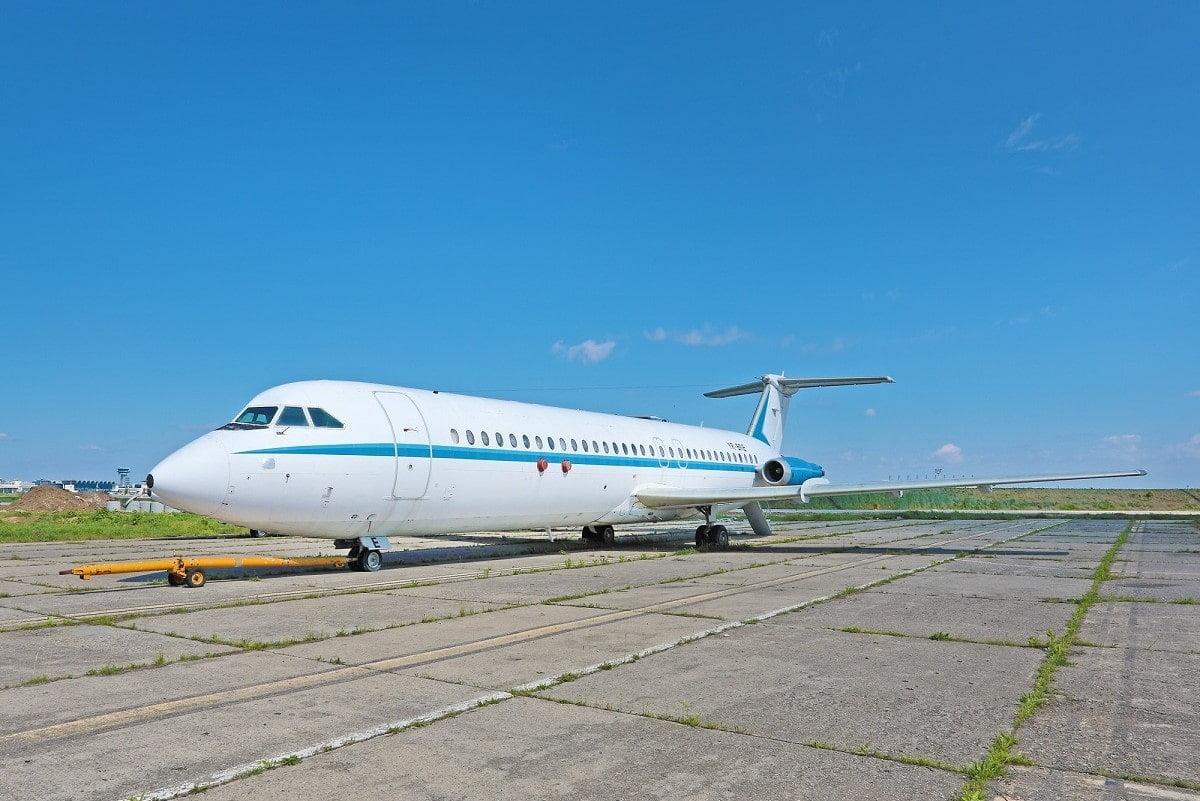 Avionul prezidențial Nicolae Ceaușescu, 1986