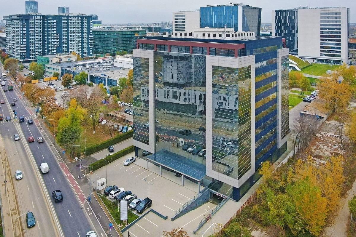 Cladirea viitorului spital Medicover Bucuresti