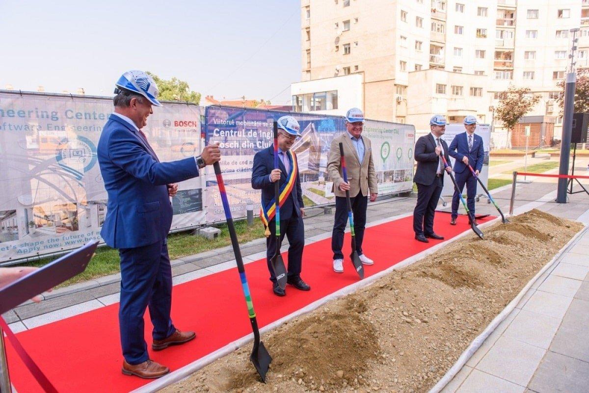 Constructie cladire birouri Bosch Cluj