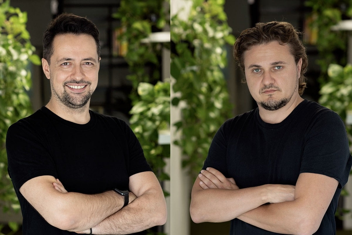 Marius Ursache si Vlad Bodi, fondatorii Metabeta