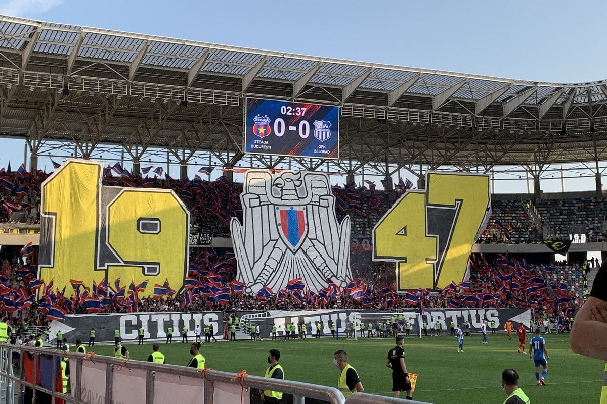 Steaua Bucuresti inaugurare stadion