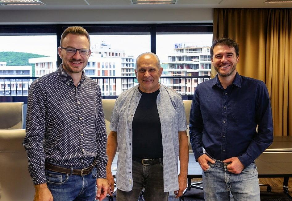 Valentin Filip, Managing Director Product Investments Fortech, Philip Choban, CEO Telios Care si Mircea Vadan , Investitor Transylvania Angels Network