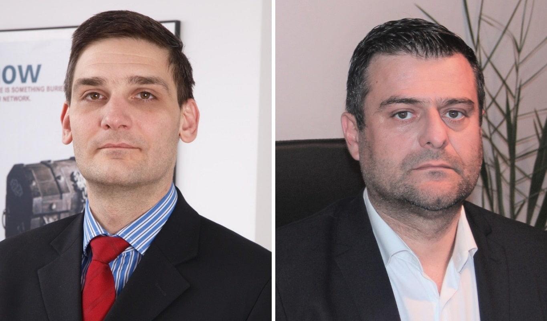 Dragos Stroescu, Administrator Datanet Systems si Mircea Pop, Administrator si Proprietar Red Dot