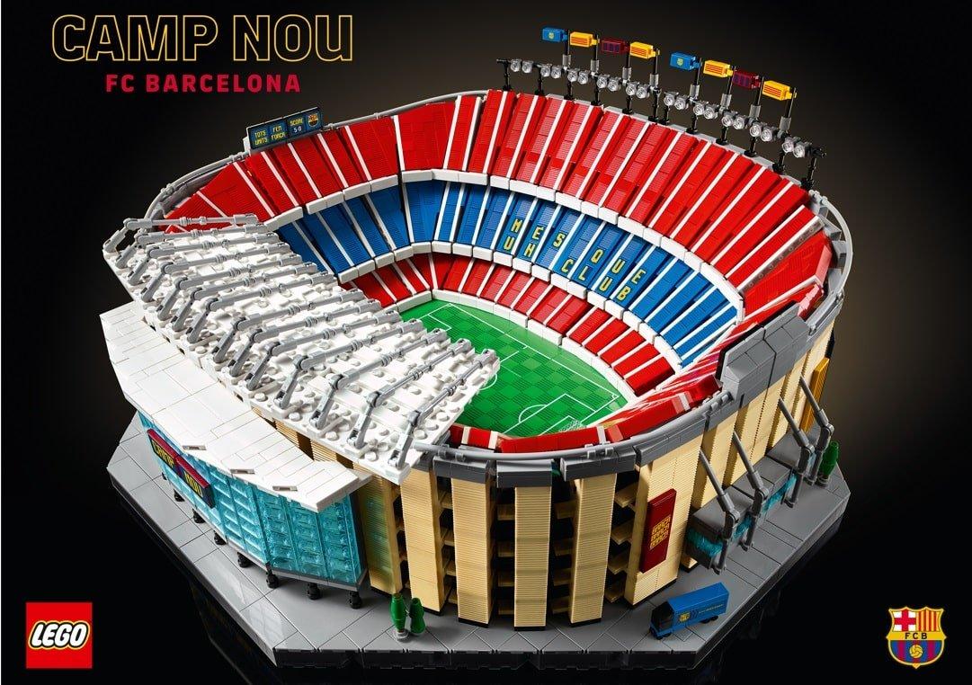 LEGO Camp Nou FC Barcelona