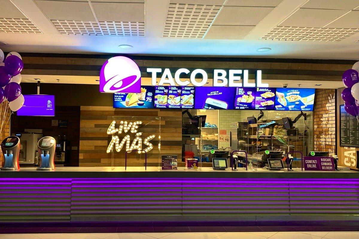 Taco Bell Arena Mall Bacau